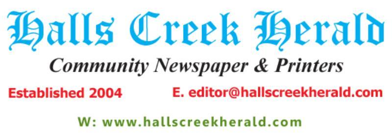 Private Business For Sale Halls Creek 6770 WA
