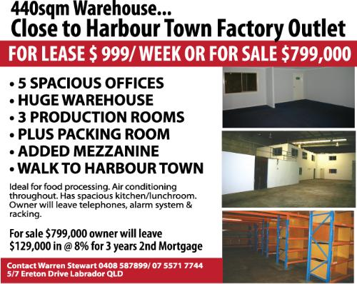 Private Commercial For Sale Labrador 4215 QLD