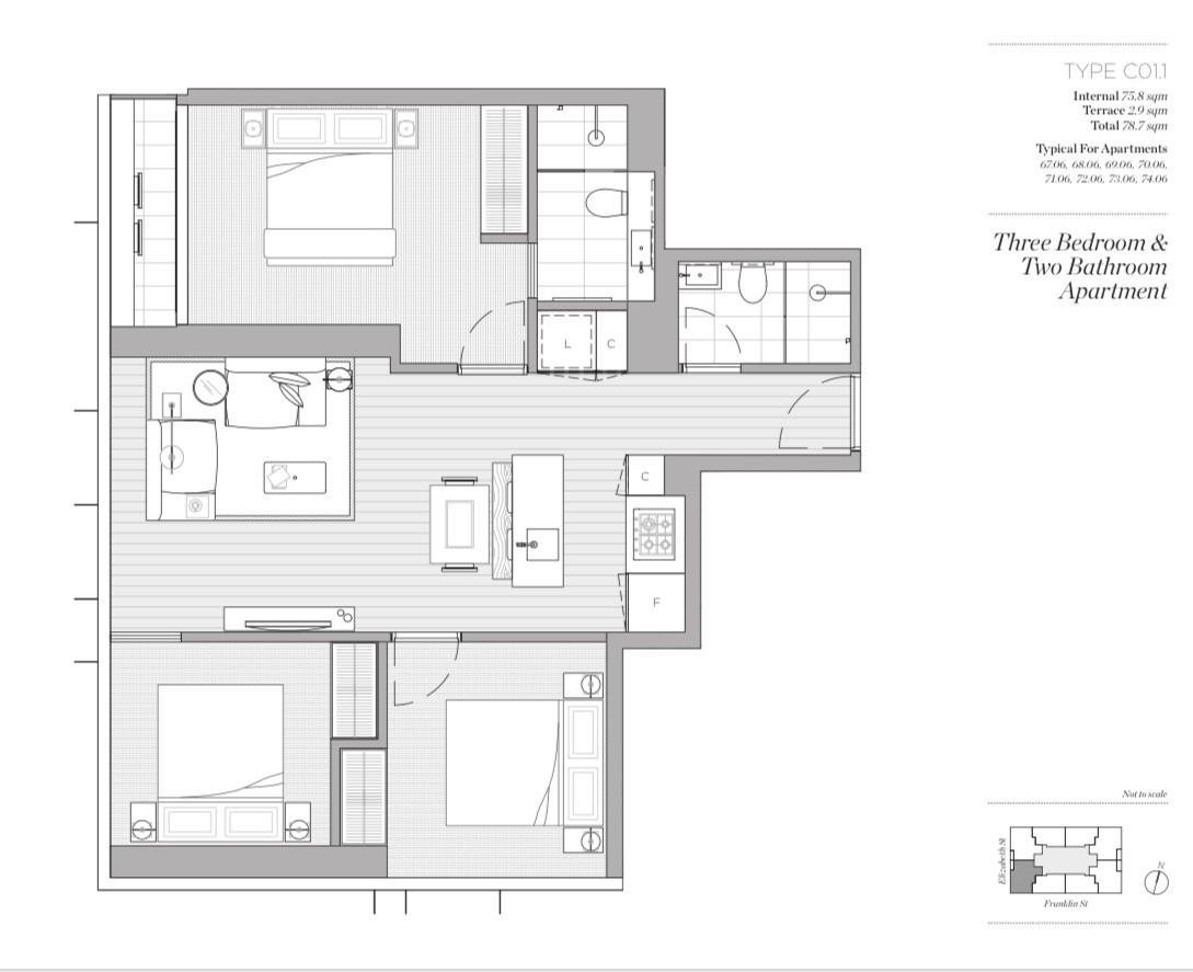 Property For Sale 7106/452 Elizabeth St Melbourne VIC 3000 10