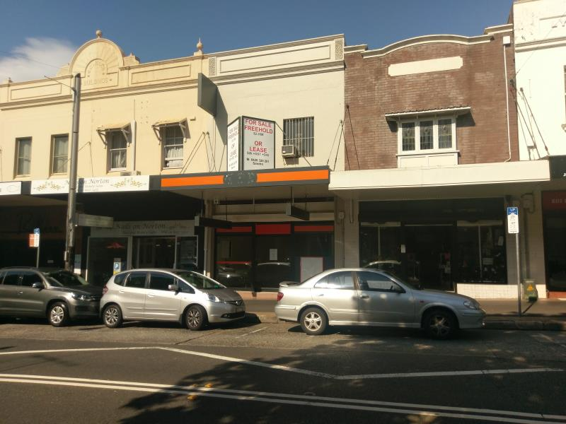 Private Commercial For Lease 127 Norton St Leichhardt NSW 2040