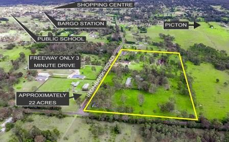 Private Commercial For Sale 65-95 Ironbark Road Bargo NSW 2574