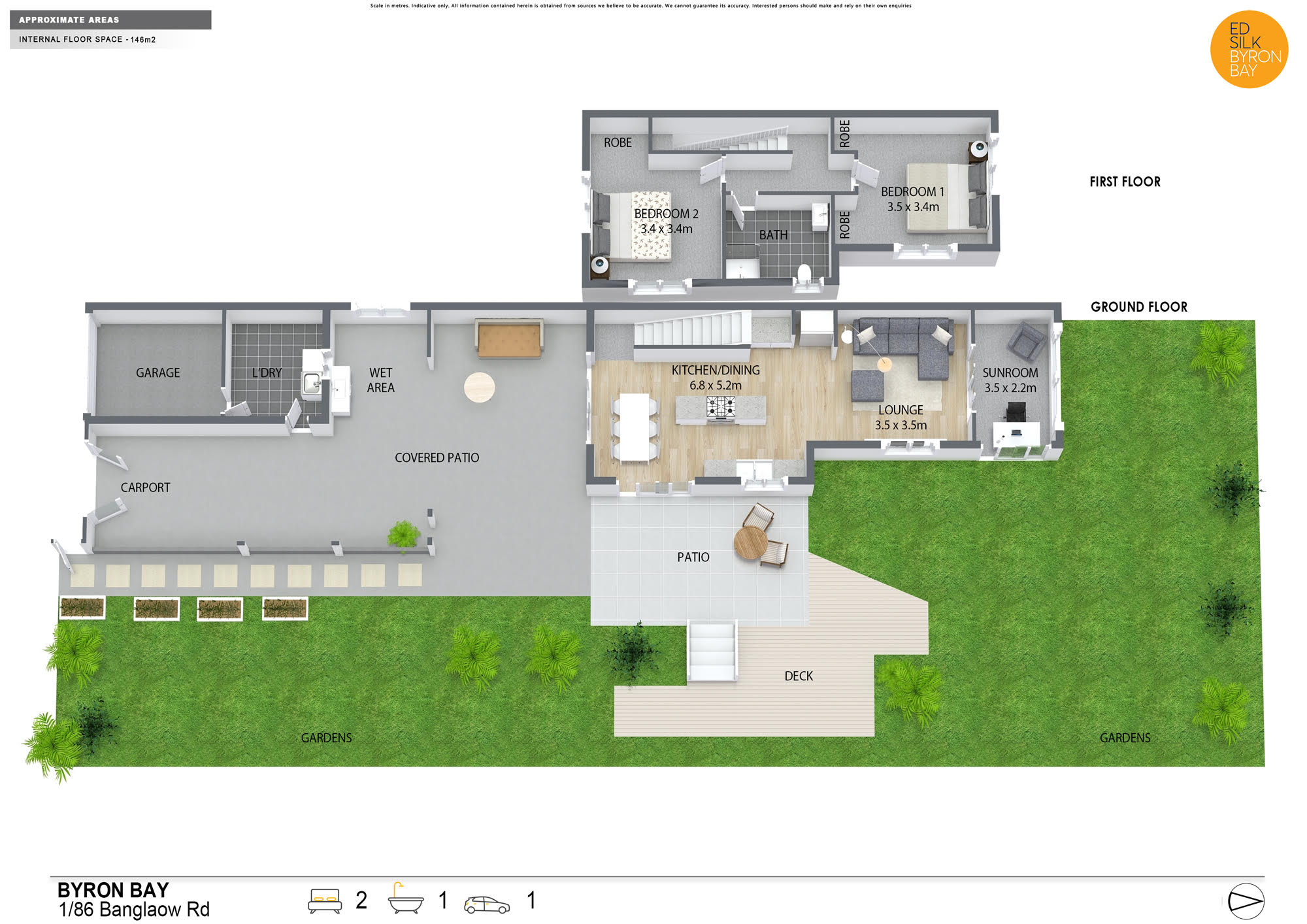 Property For Sale Unit 1/86 Bangalow Road Byron Bay NSW 2481 16