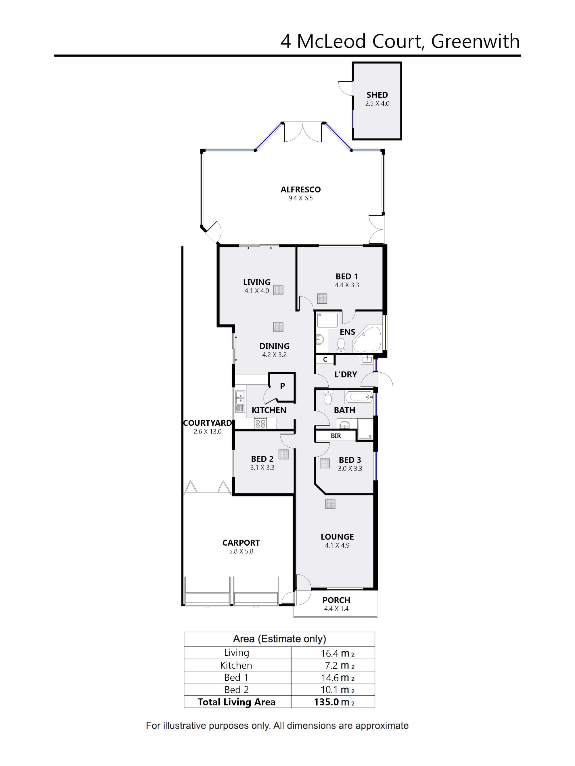 Property For Sold 4 McLeod Court Greenwith SA 5125 25